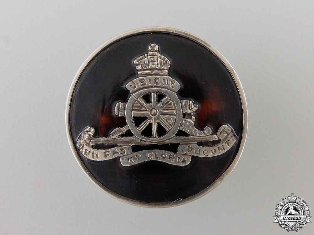 A 1918 First War Royal Field Artillery Pin by C&A
