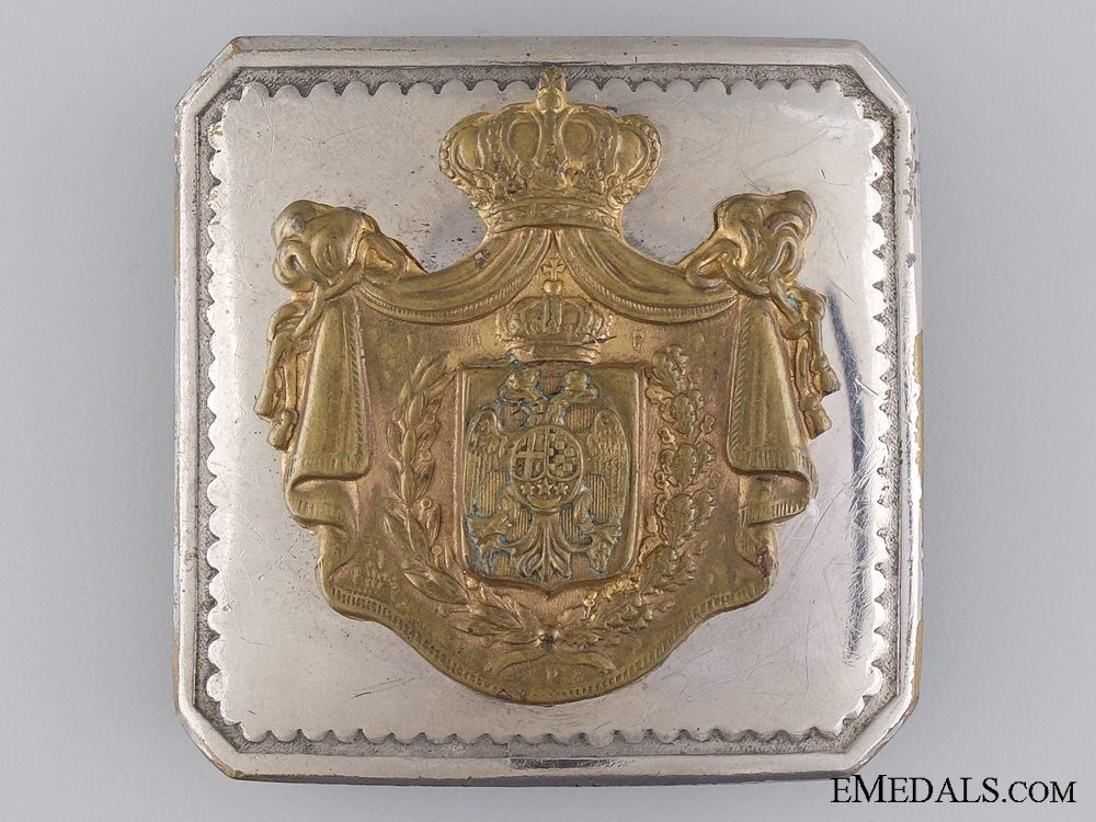 A 1930's Yugoslavian Officer's Belt Buckle