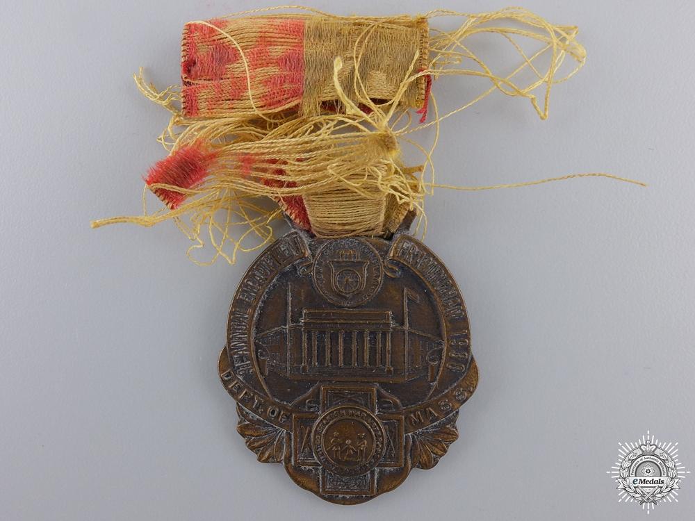 A 1930 United Spanish War Veterans Medal