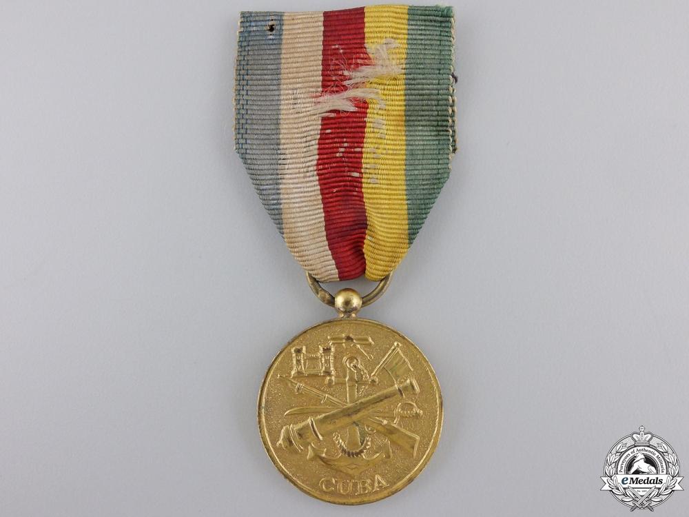 A 1933 Cuban Service Medal
