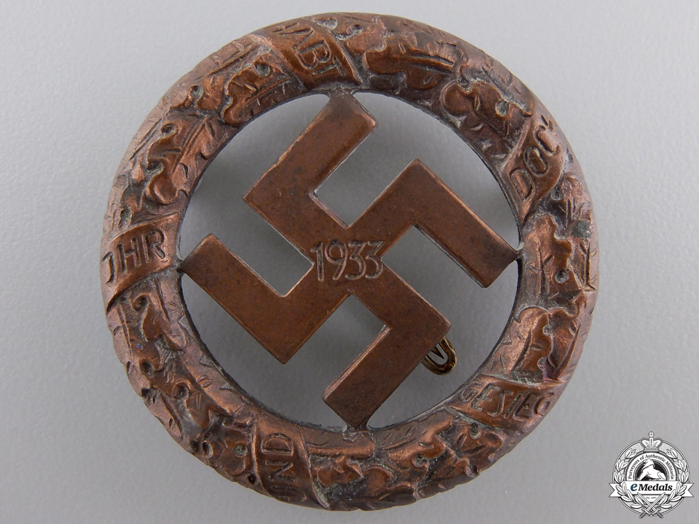 A 1933 Gau- München Badge