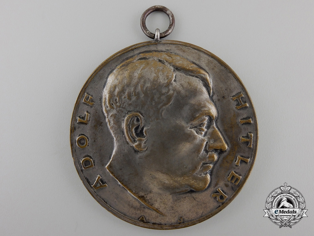 A 1934 Air Rifle Championship Medal