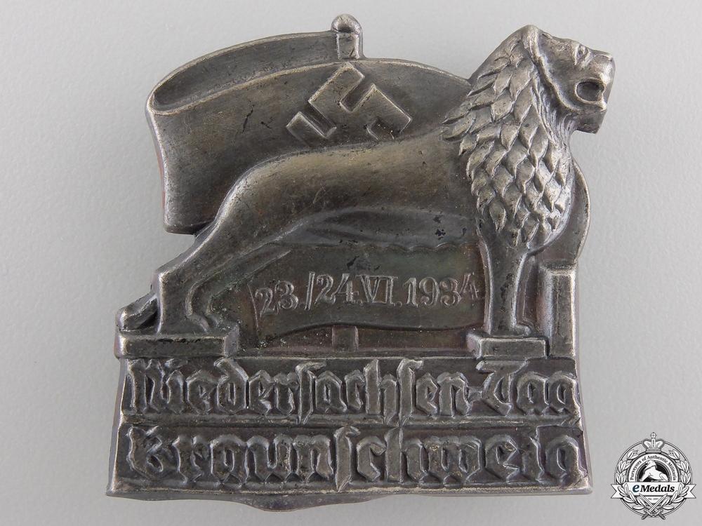 A 1934 Lower Saxony Day, Brunswick Tinnie