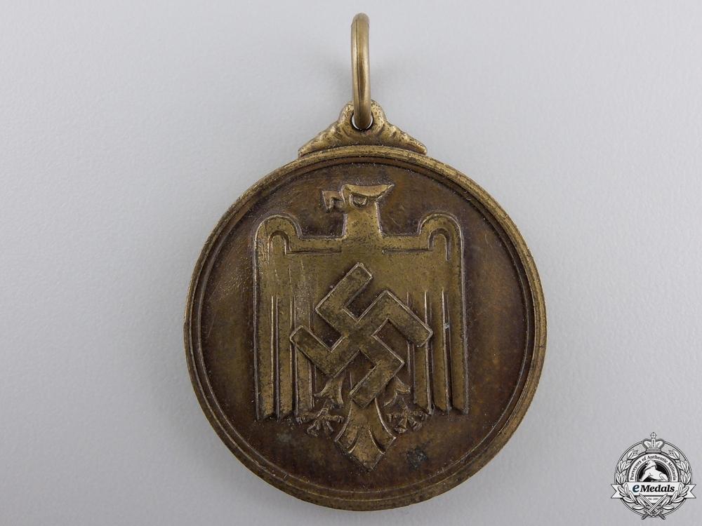 A 1937 German 1500 Meter Sprint Medal