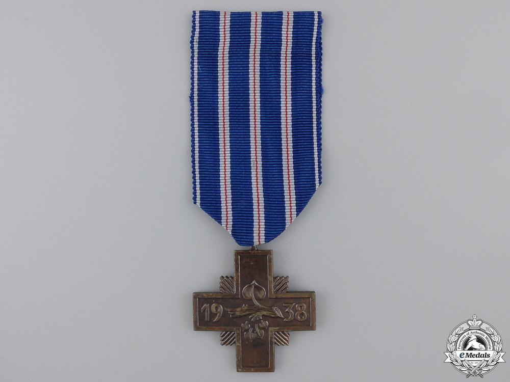 A 1938 Czechoslovakian Long Service Cross