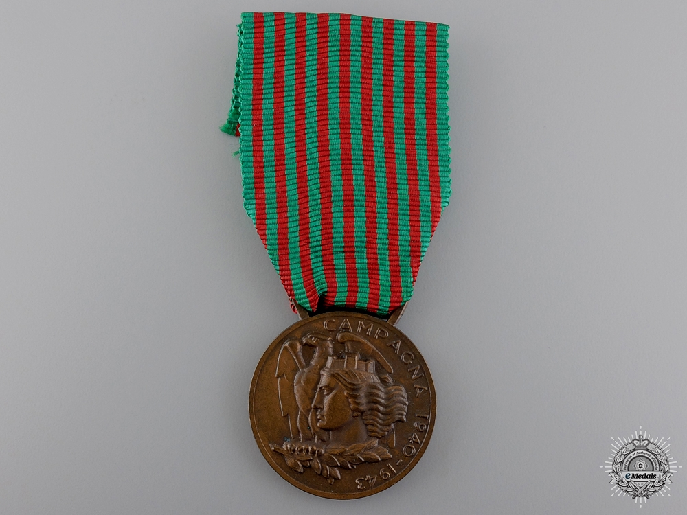 A 1940-1943 Italian Second War Commemorative Medal