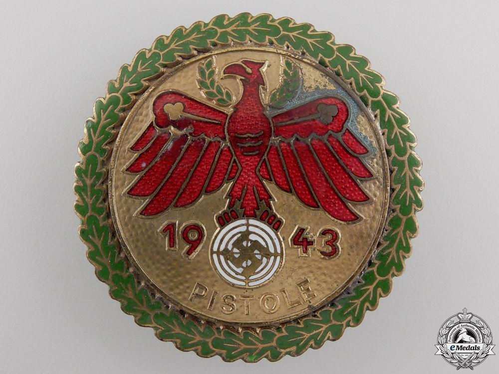 A 1943 German Shooting Award