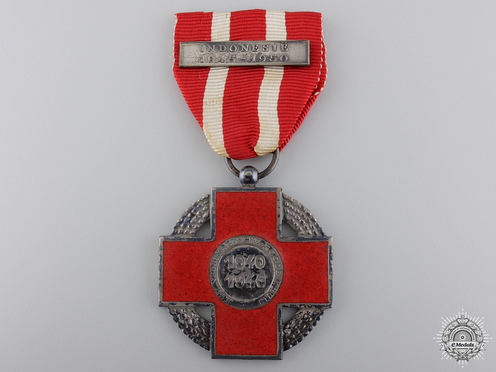 A 1945 Dutch Red Cross Memorial Medal