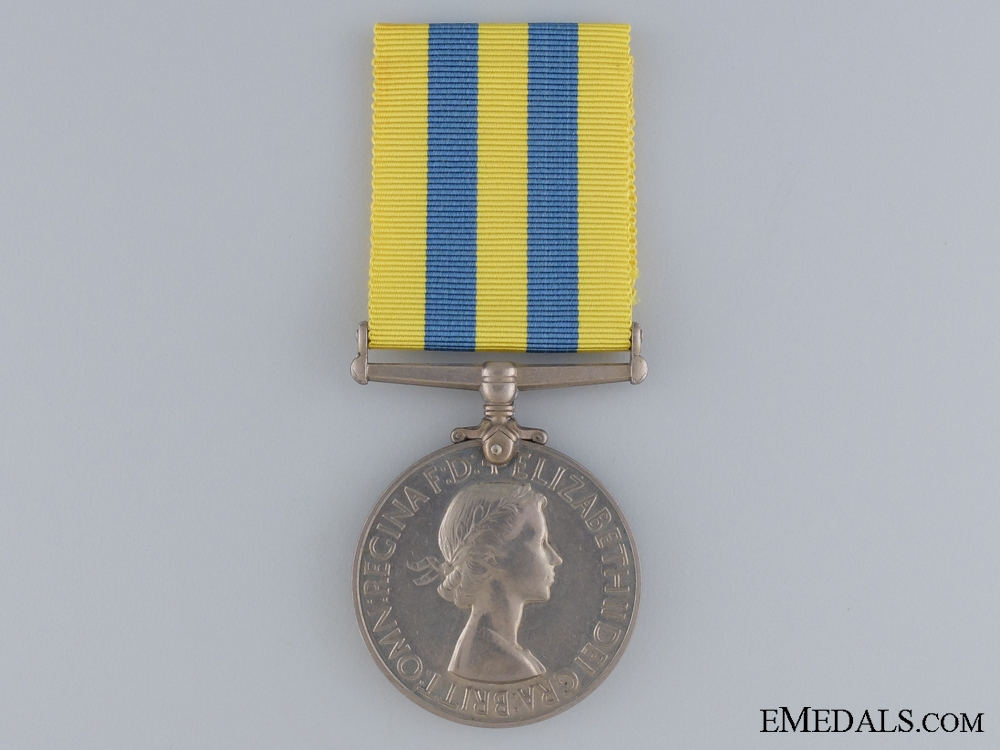 A 1950-53 Korea Medal to the Royal Signals