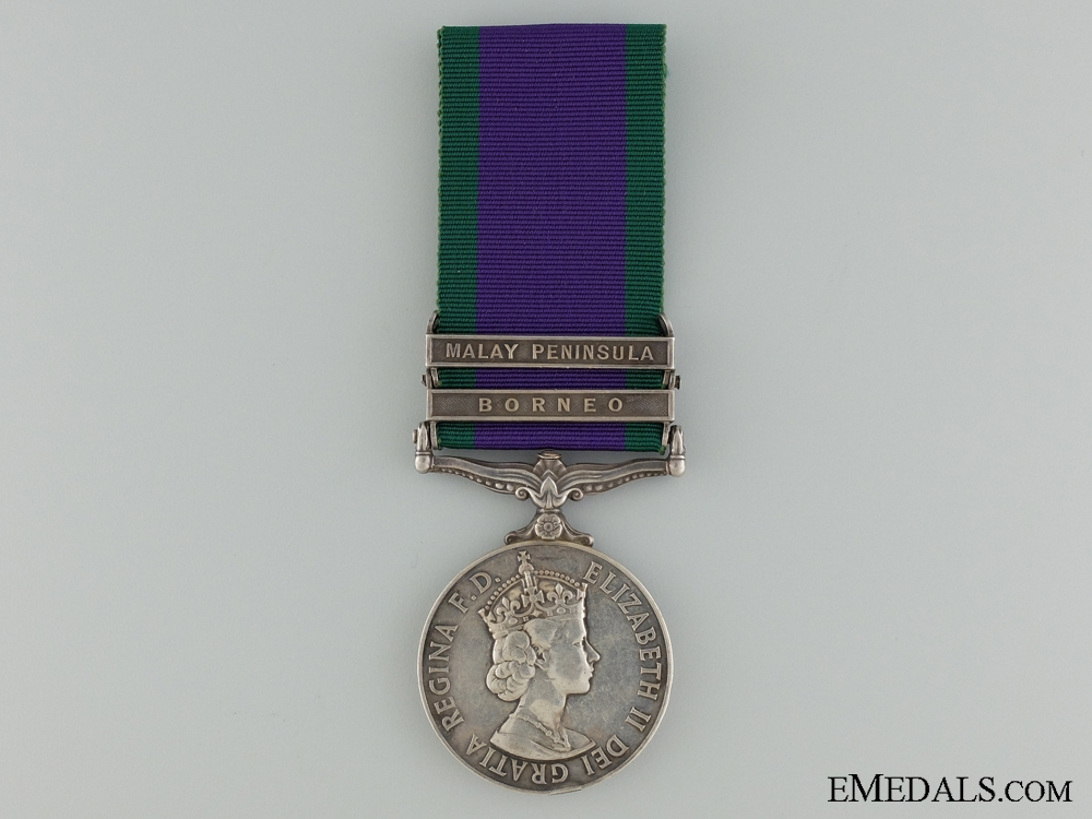 A 1962 Campaign Service Medal to the 10th Gurkha Rifles