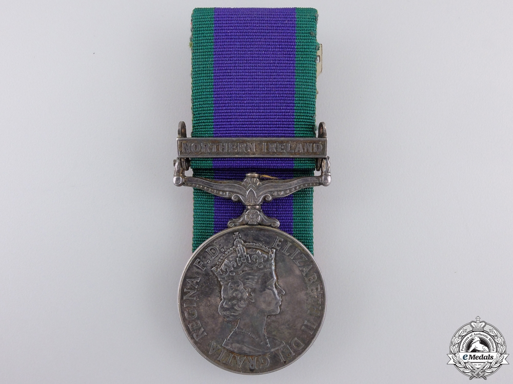 A 1962 General Service Medal to the Para Regiment