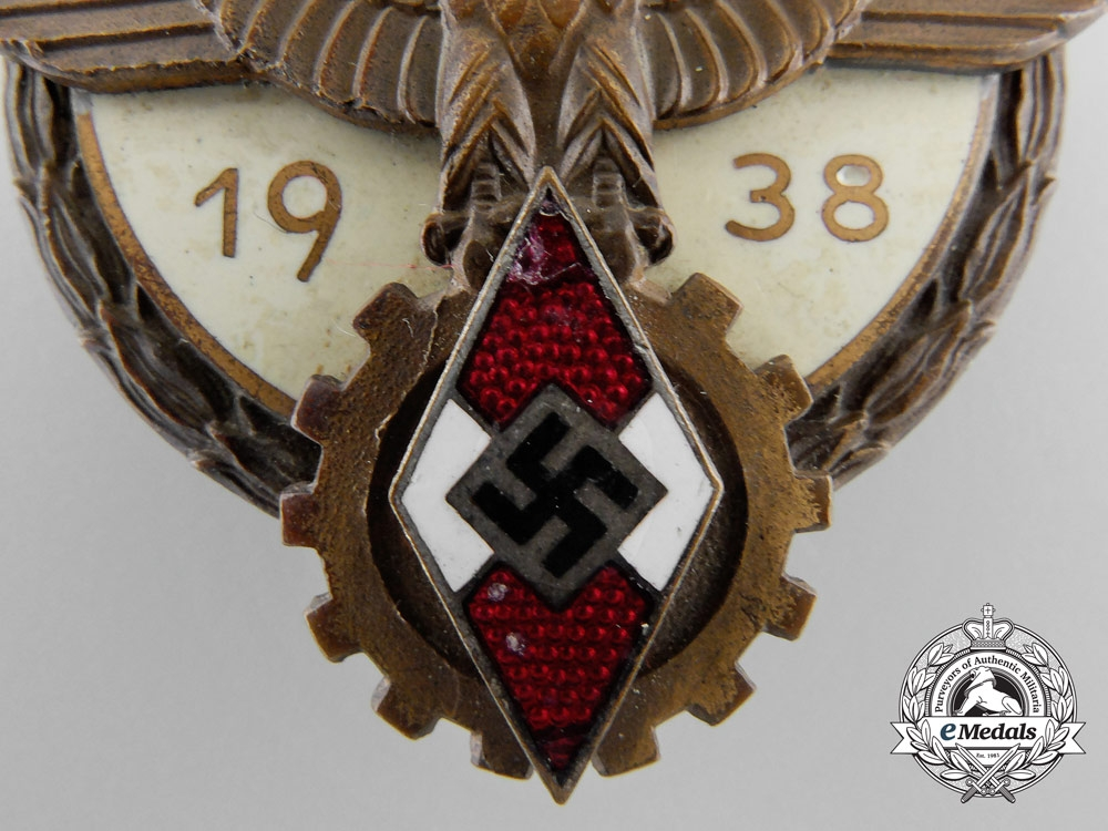 A Victors Badge in the National Trade Competition 1938