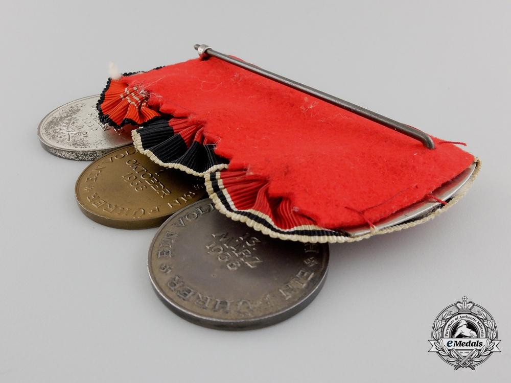 A German Olympic Games Medal Bar