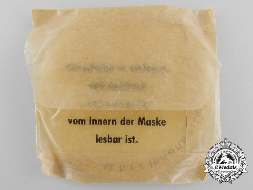 A Set of German Tropical Spare Gas Mask Lenses (Gasmaske Klarscheiben)