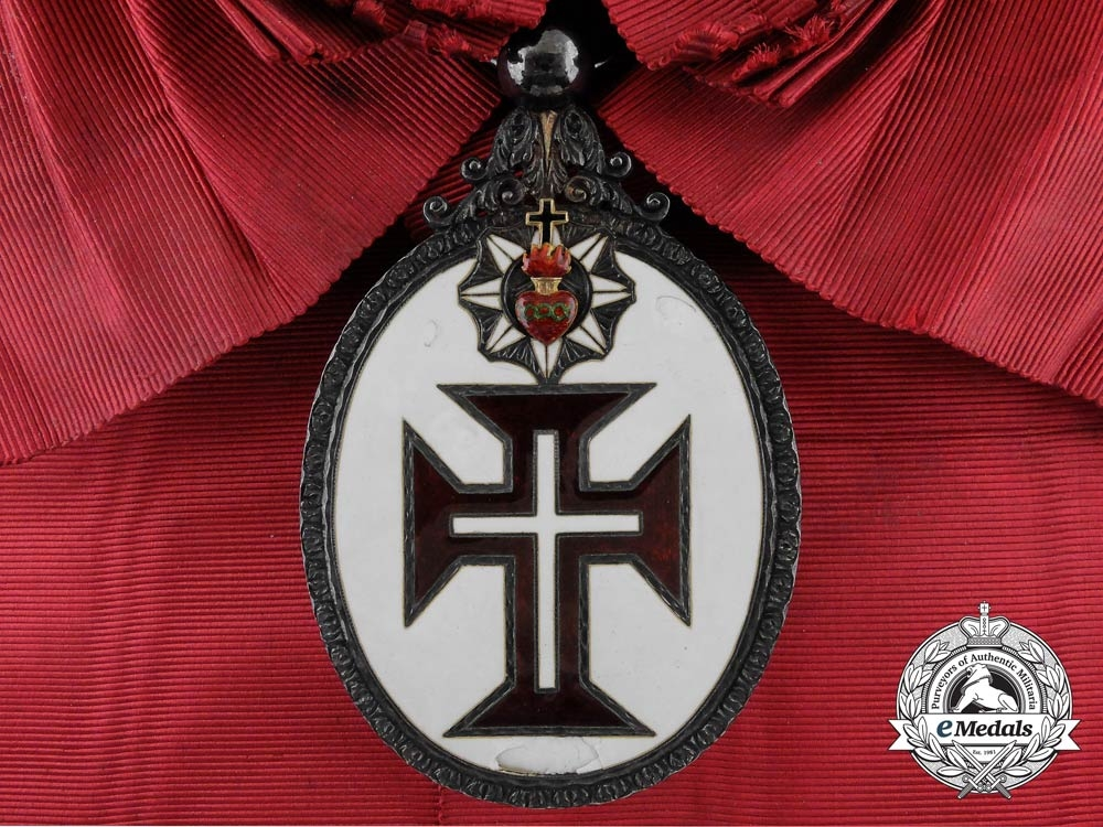 A Portuguese Military Order of our Lord Jesus Christ; Grand Cross Badge, 2nd Type (1789-1910)