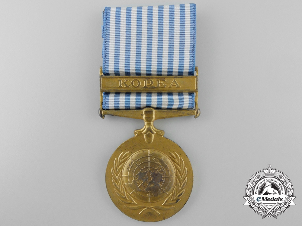 A Greek United Nations Korea Medal
