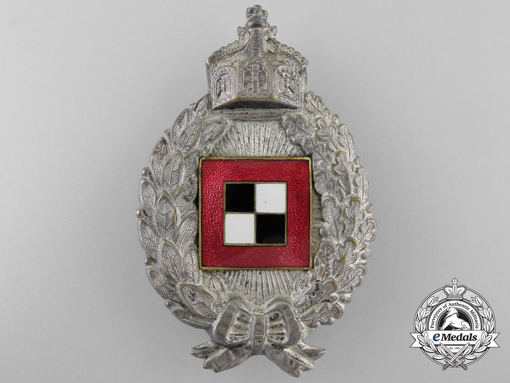 Germany, Imperial. A Prussian Observer's Badge; Hollow Version, c.1925