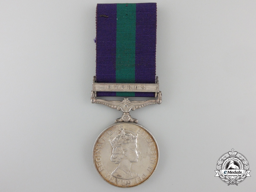 A General Service Medal 1918-1962 to the Royal Artillery
