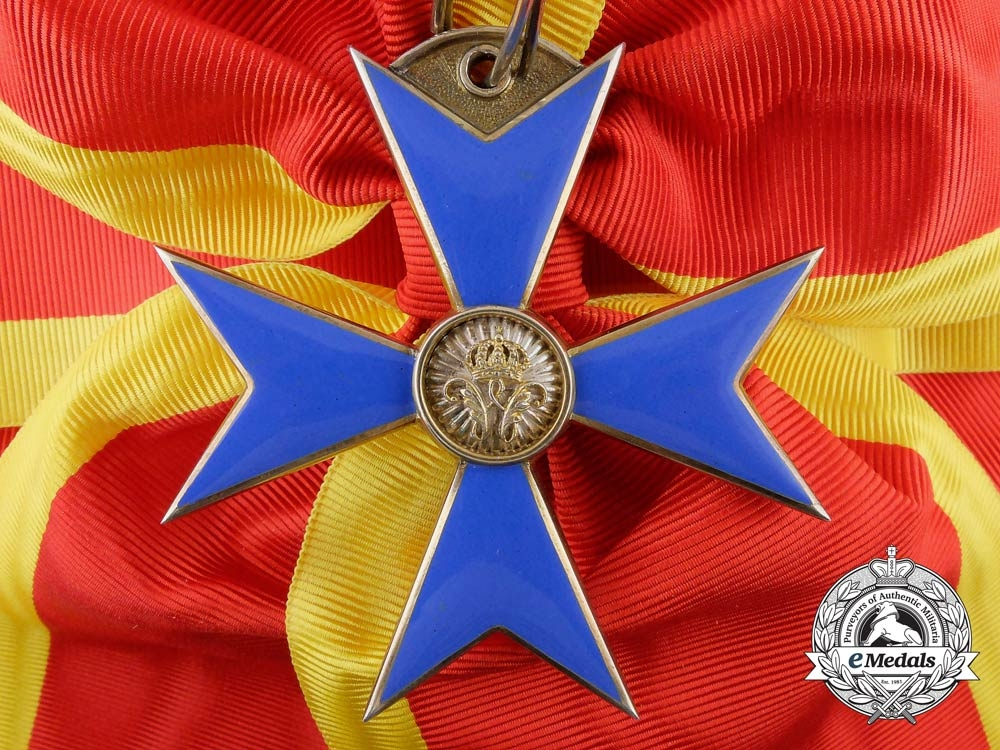 A Fine Brunswick (Braunschweig) Order of Henry the Lion; First Class by Hermann Jürgens