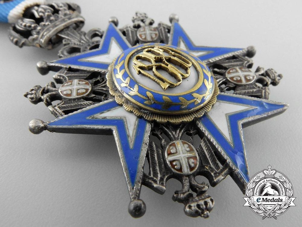 A Serbian Order of St. Sava; Fifth Class Knight's Cross