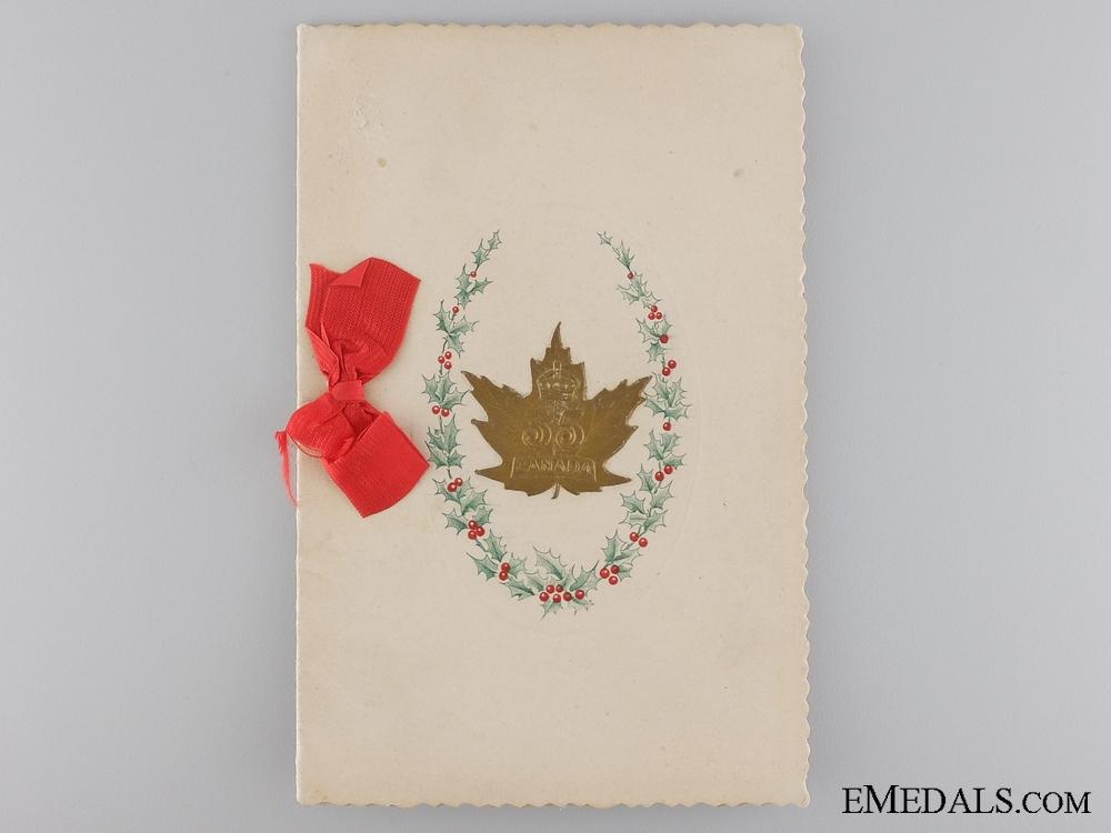 A 35th Canadian Infantry Battalion CEF Card
