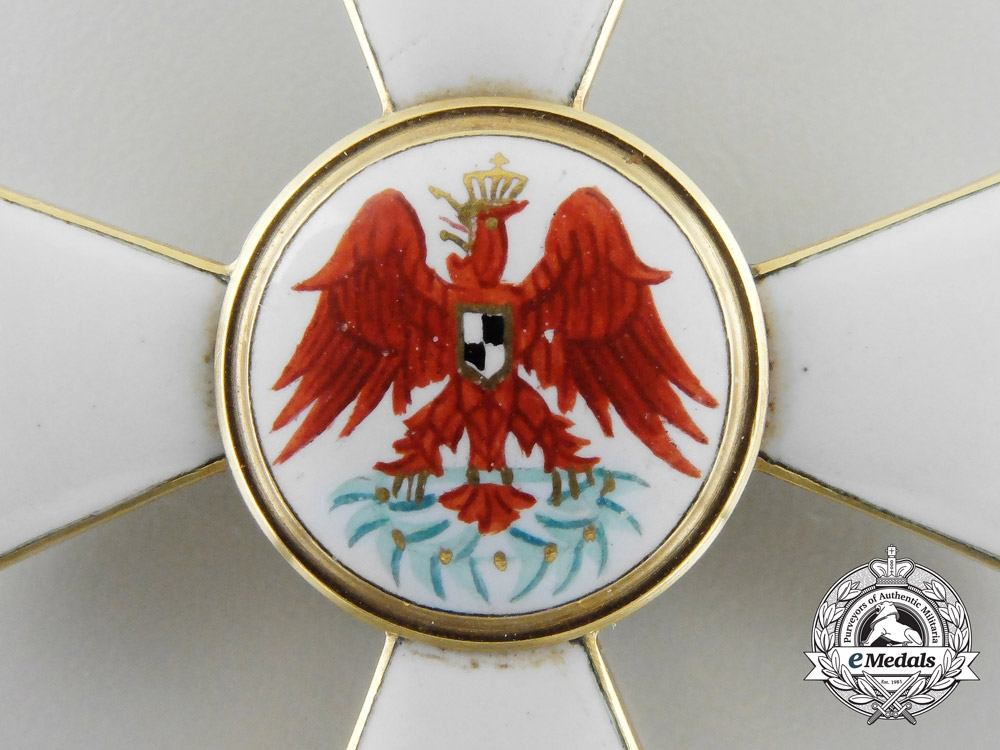 A Prussian Order of the Red Eagle in Gold; Third Class by Neuhaus & Sohn