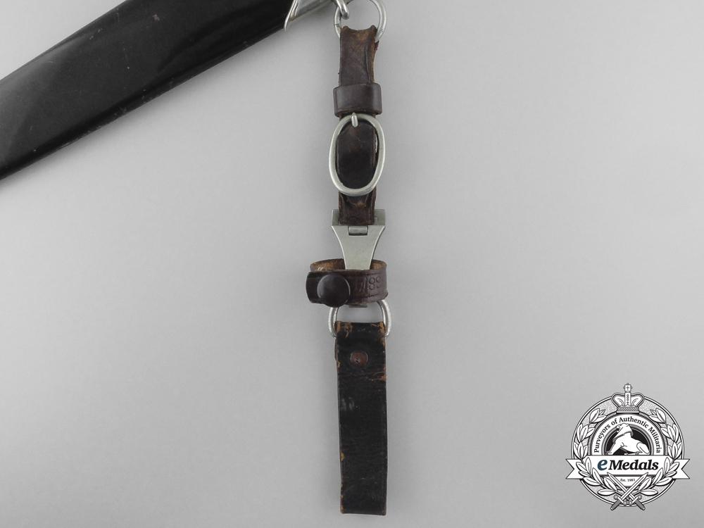 An NSKK Dagger and Hanger by Wilhelm Kober & Co, Suhl