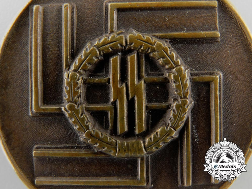 An SS Long Service Award; Third Class for Eight Years