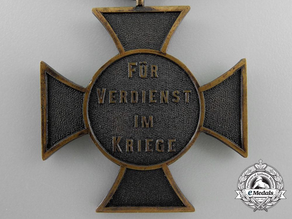 A 1914 Anhalt Friedrich Cross with Packet