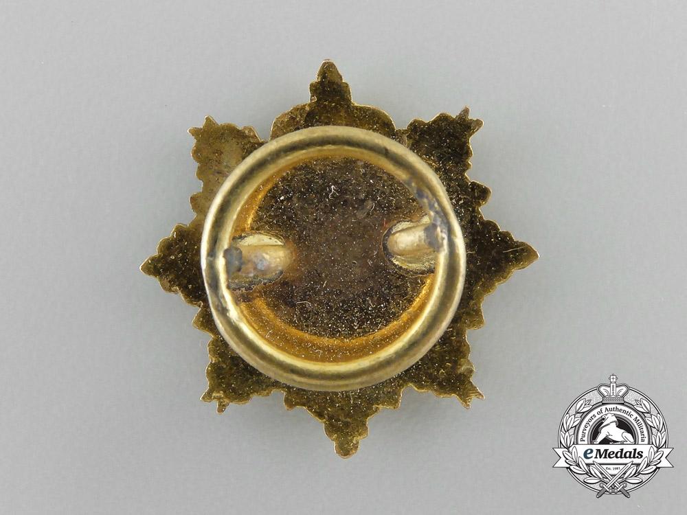 Spain, Kingdom. A Miniature Red Cross Supreme Assembly Star 1926-1931