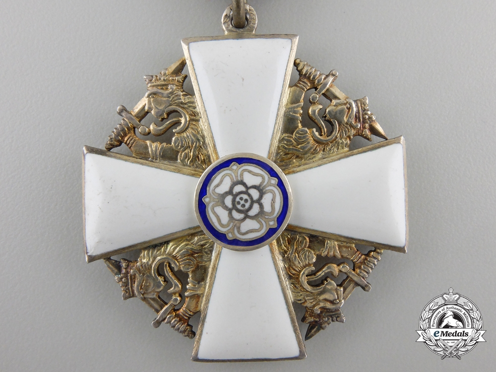 Finland, Kingdom. An Order of the White Rose, Officer's Breast Badge