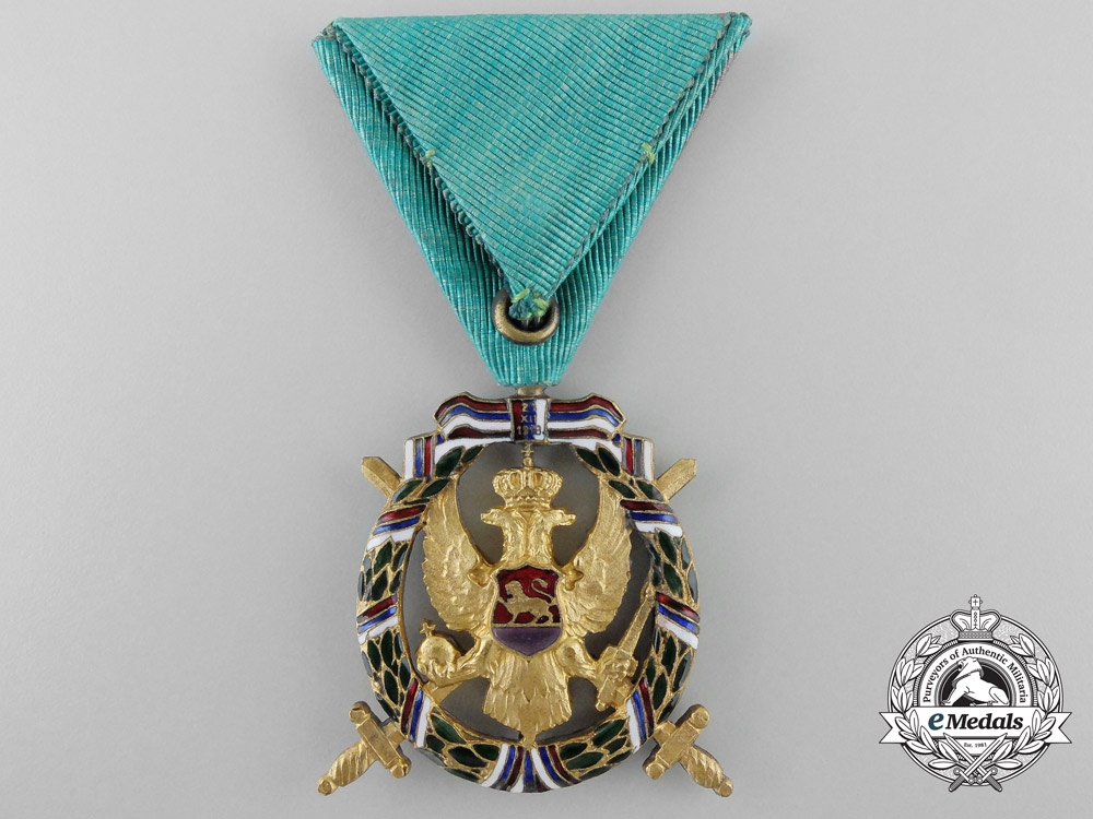 A 1920 Montenegrin Commemorative Victory Medal