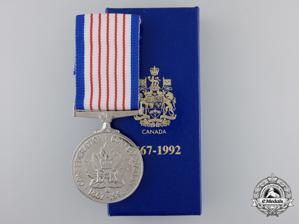 A Canadian 125th Anniversary of Confederation Medal 1867-1992