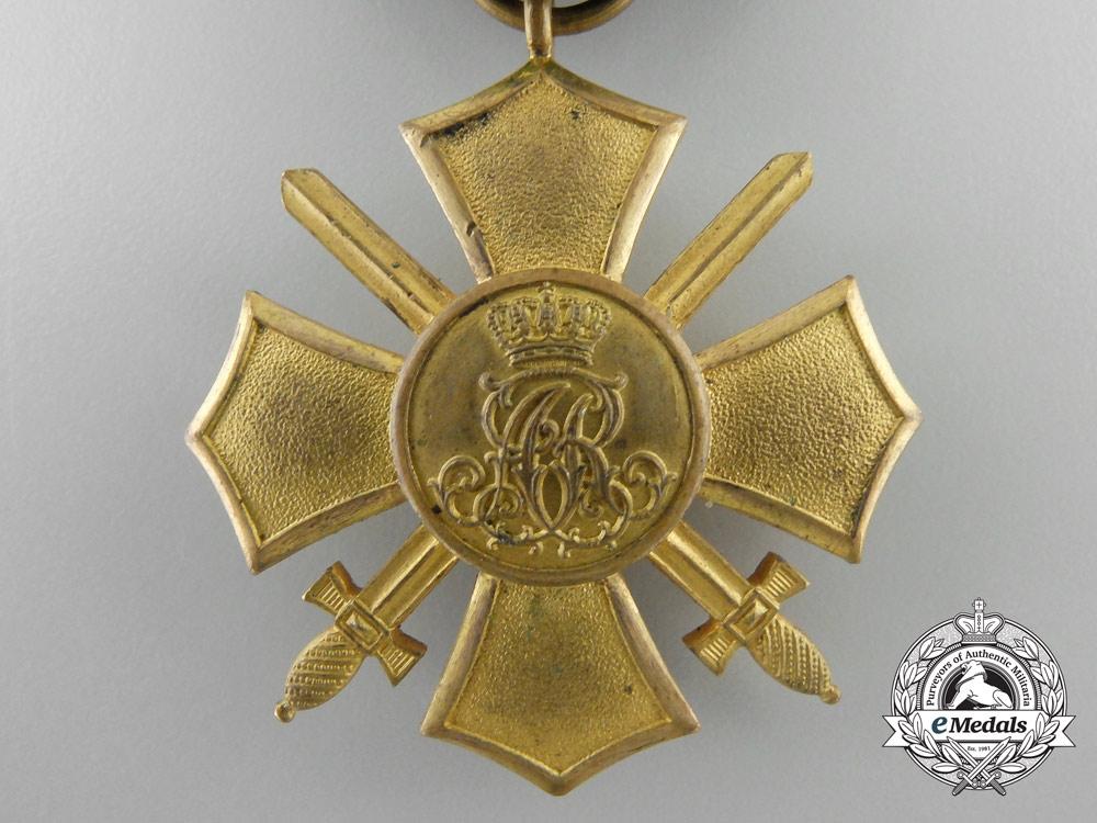 A First War Saxon General Honour Cross