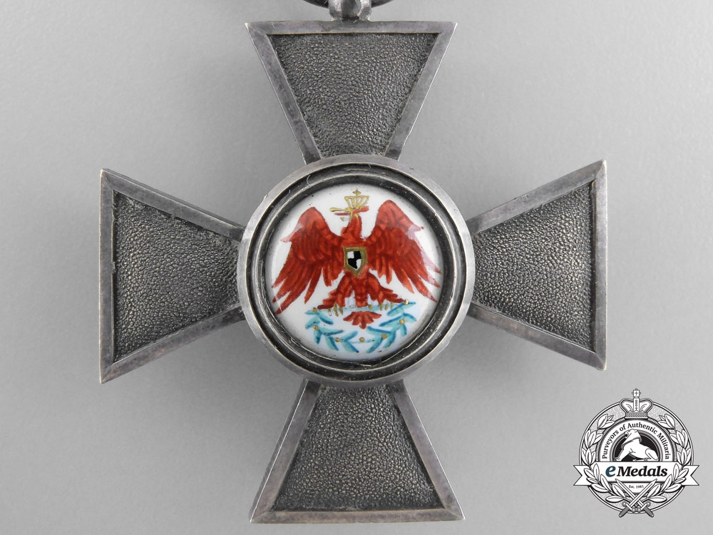 A Prussian Order of the Red Eagle; Fourth Class Cross
