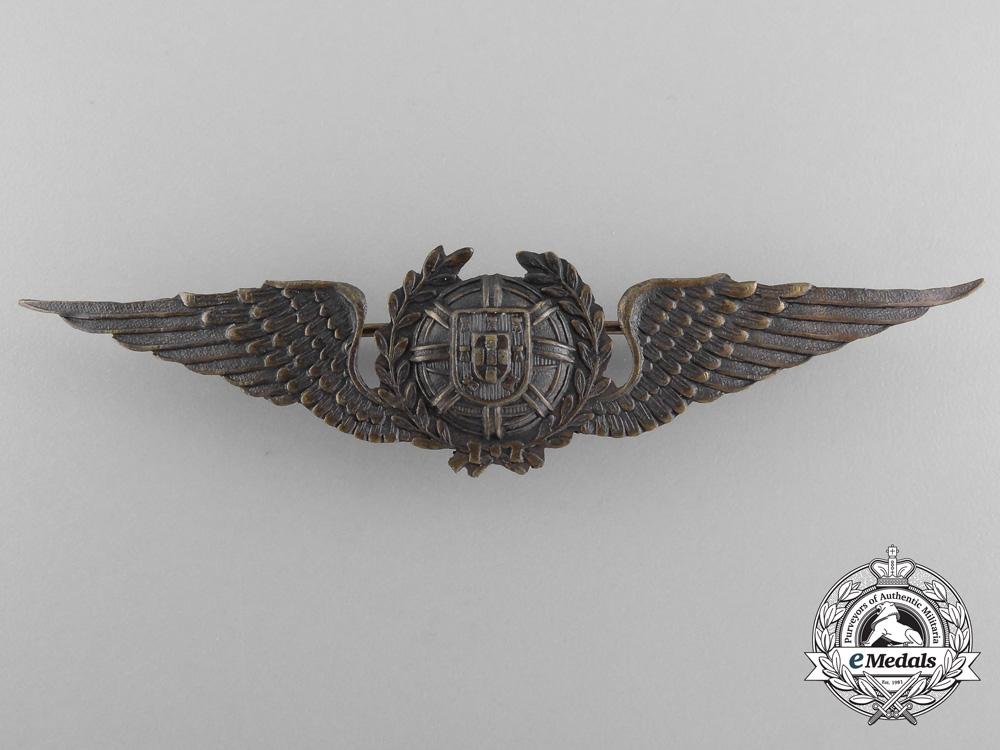 A Second War Portuguese Pilot's Badge