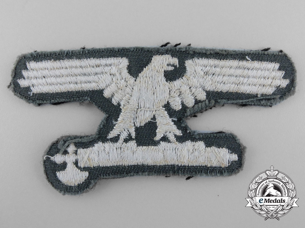 An Italian SS EM/NCO Volunteer's Sleeve Eagle