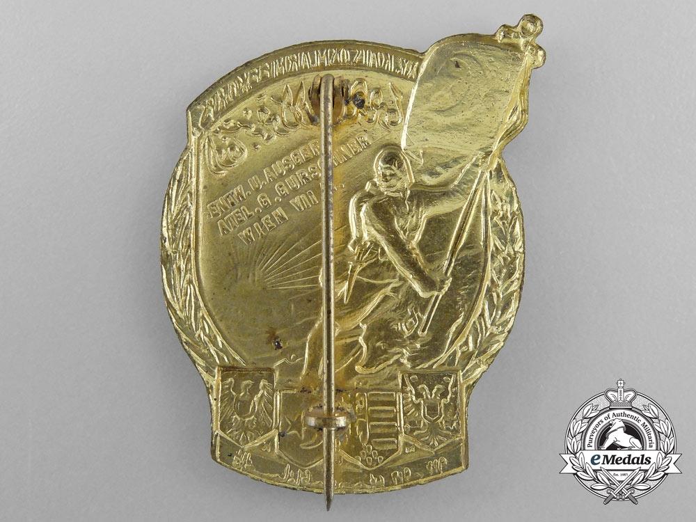 A First War Austrian Made Turkish Cap Badge