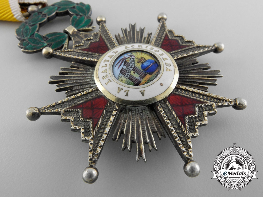 A Spanish Order of Isabella the Catholic, Knight's Cross