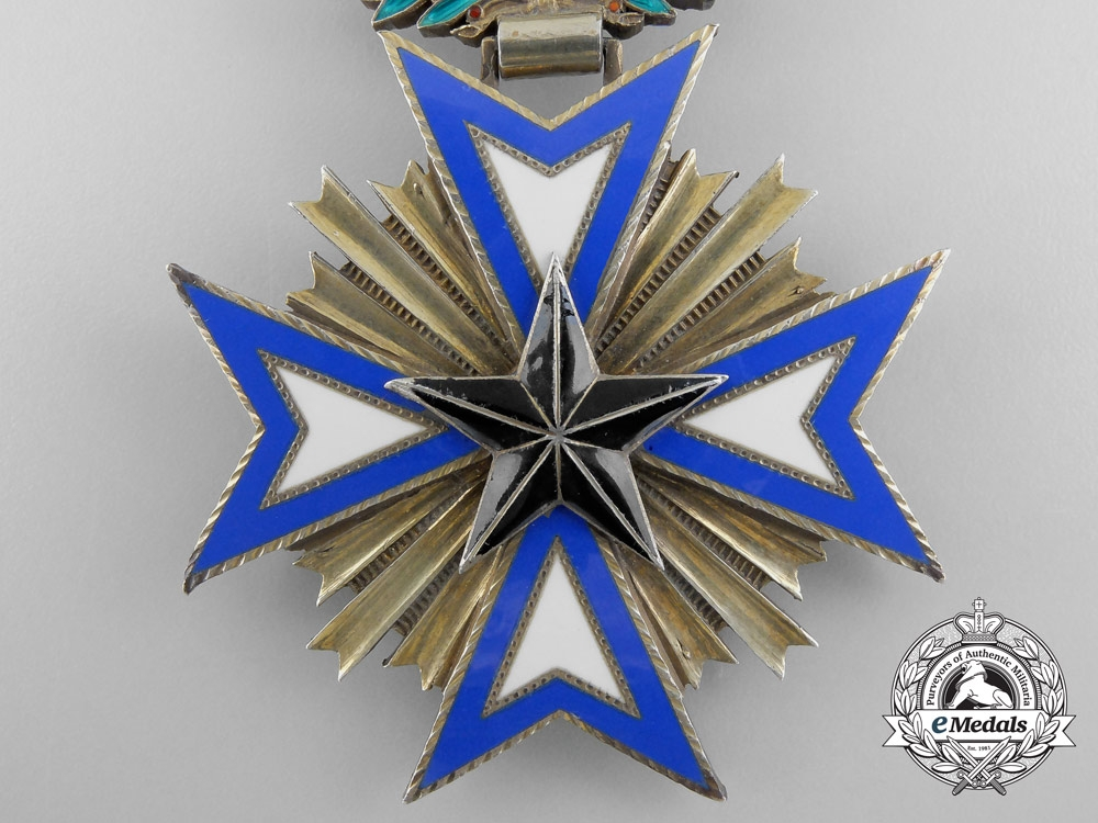 France, Colonial. An Order of the Black Star, Commander, by Arthus Bertrand, c.1920