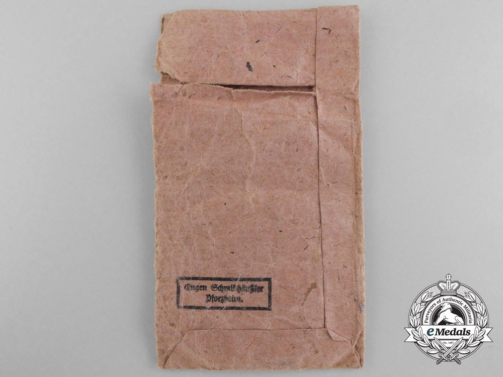 Two Second War German War Merit Awards with Packets of Issue