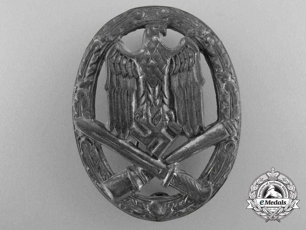 A Second War General Assault Badge by Rudolf Karneth