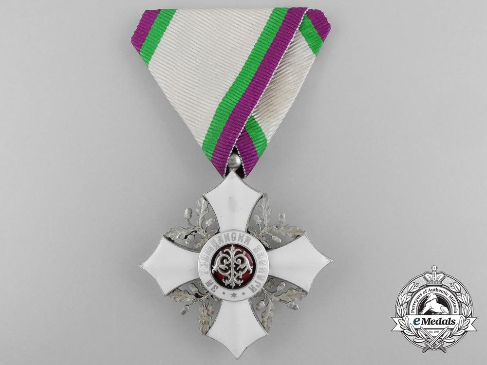 A Bulgarian Civil Merit Order; Fifth Class Knight (1909-1944)