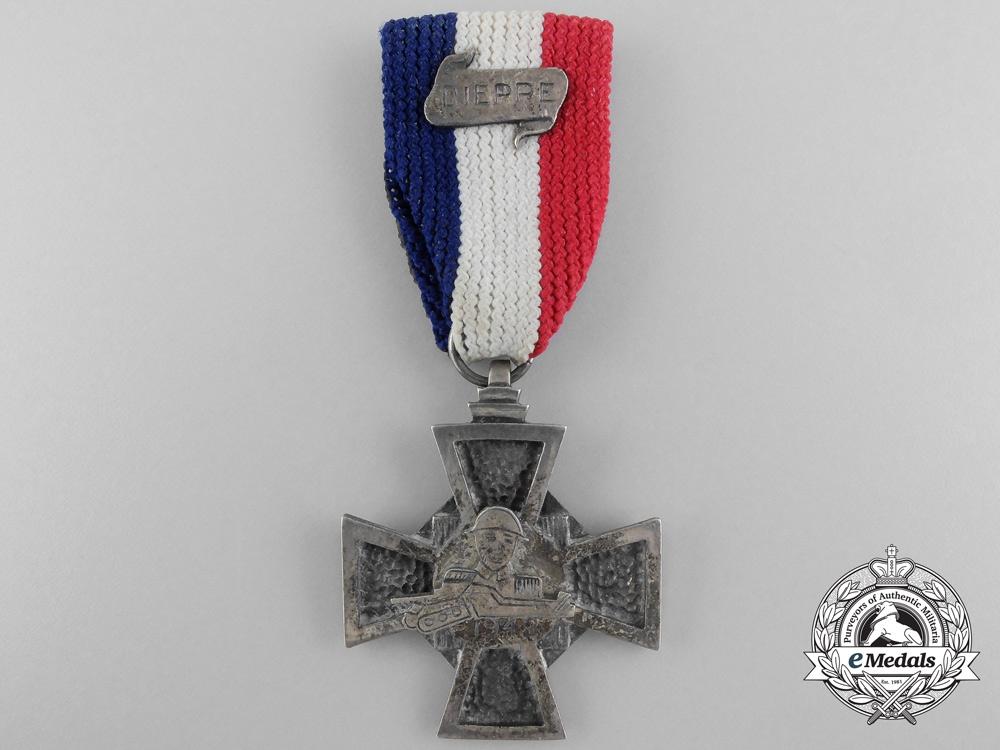 A Canadian Second War Dieppe Commemorative Cross
