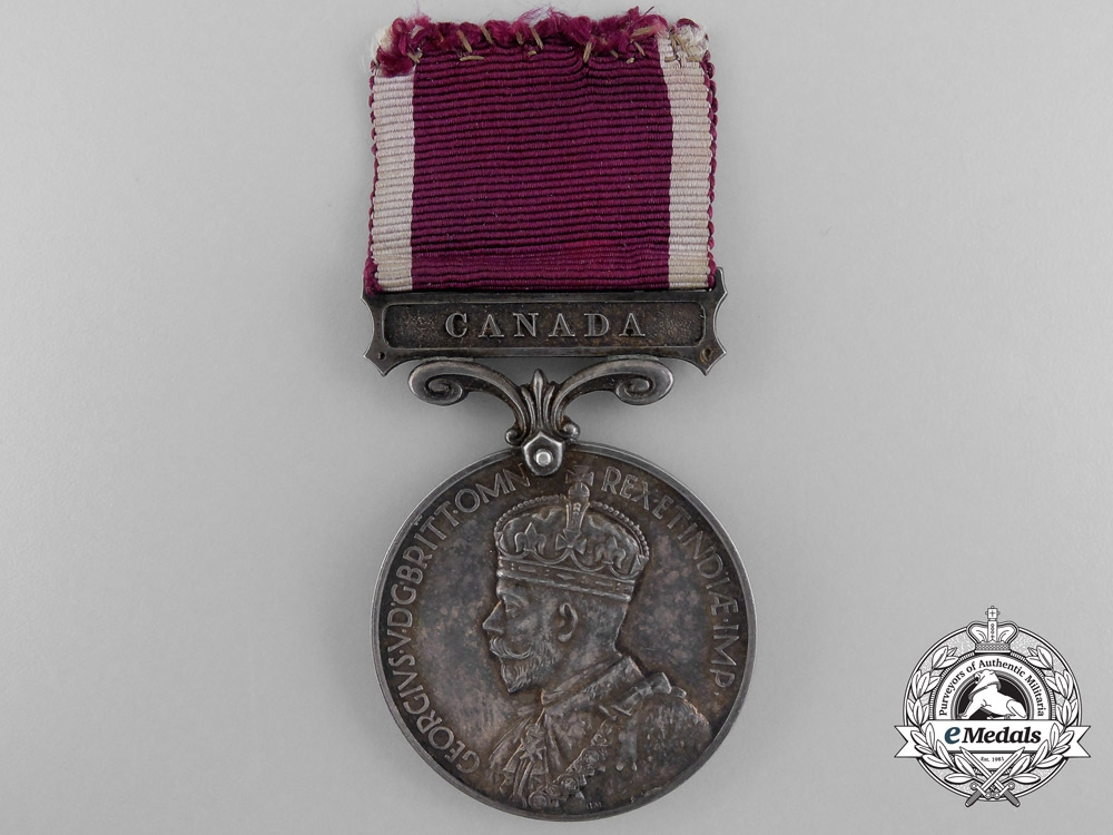 An Army Good Conduct & Long Service Medal to the R.C.A.M.C