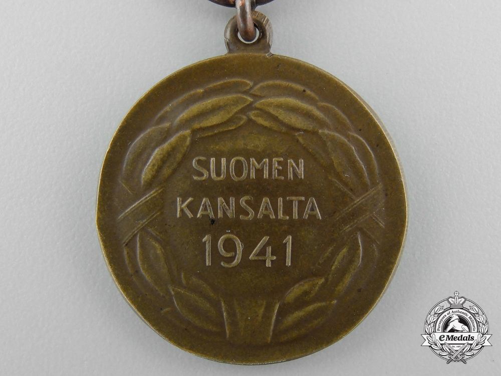 A Finish Medal of Bravery for the Order of Liberty 1939