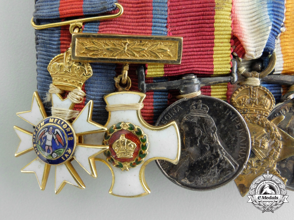 Great Britain. A Fine First War Order of St. Michael and St. George Miniature Group
