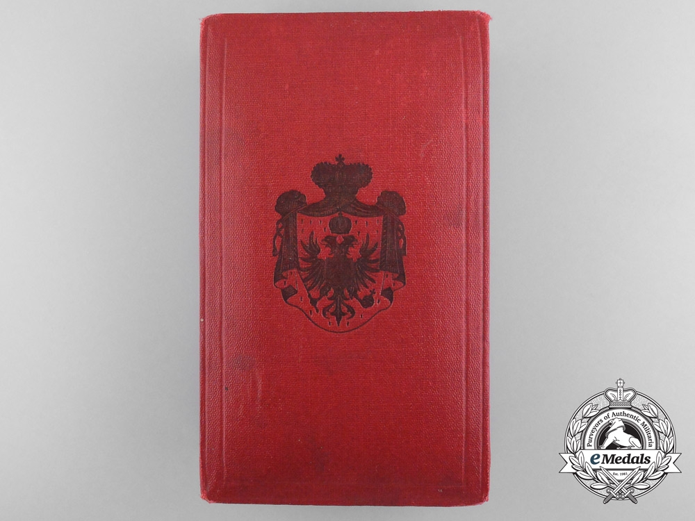 A Case for the Montenegrin Order of Danilo I; 4th or 5th Class