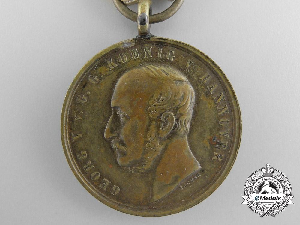 An 1866 Hanoverian Langensalza Medal