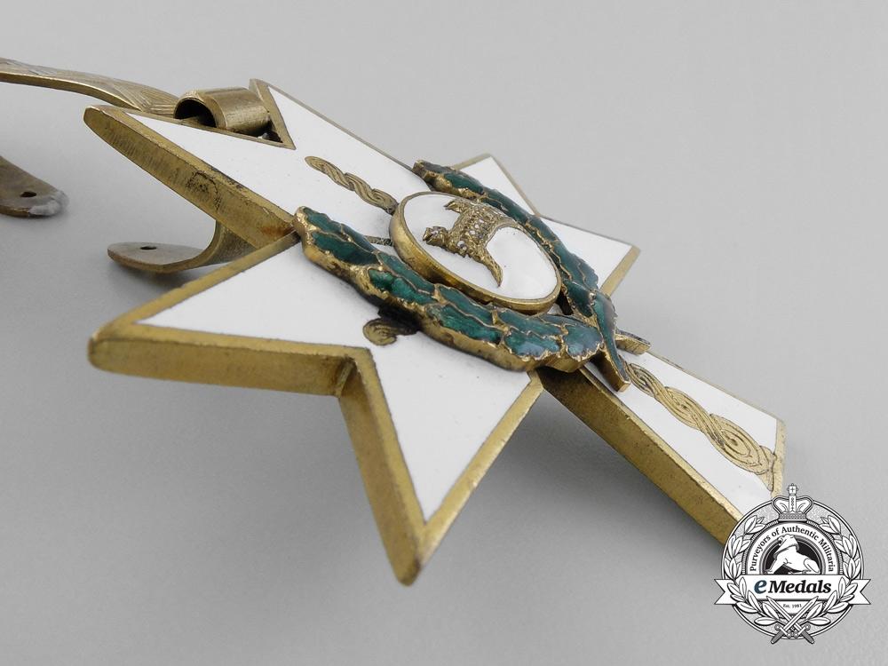 A Croatian Order of King Zvonimir's Crown; Grand Cross with Oak Leaves
